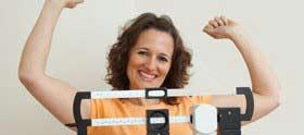 personal training client celebrates success